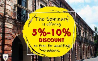The Seminary Discount