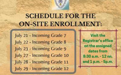 On-Site Enrollment