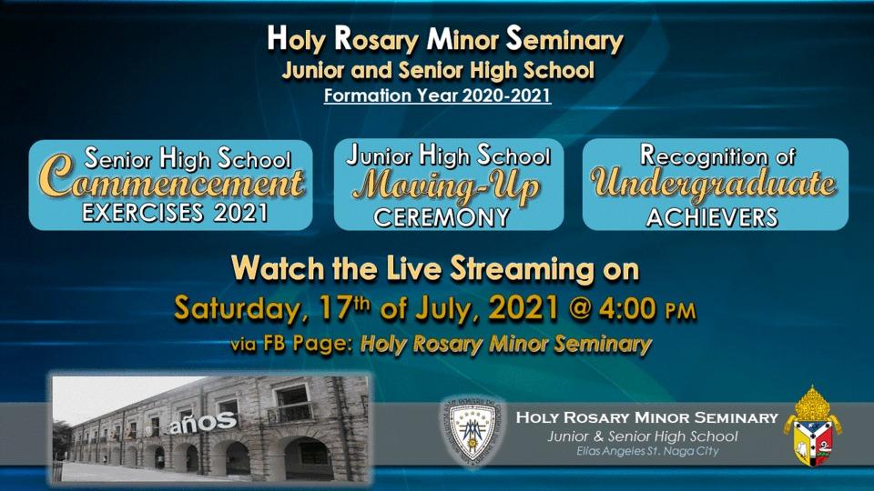 HRmS-JSHS Virtual Graduation